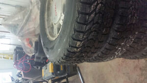 4 winterforce firestone  245/75/r16 su mag gmc