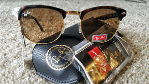 New Ray-Ban Clubmaster Sunglasses - Unisex
