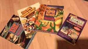 snes games strategy guides / guides de jeux snes