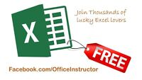 Today is your Lucky day... Join Excel Training Free of Charge