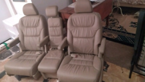 Leather armchairs, reclining, - need a base