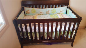 Crib with Mattress - $300