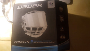 Bauer Concept 3 Full Visor Cage
