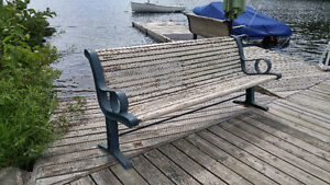 4- Cast Iron Dock Benches