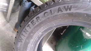 205/65/15 winter claw tires