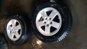 MITSUBISHI MAGS WITH TIRES 215/70/16