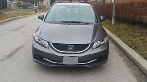 2013 Honda Civic Sedan  with emission test and safety