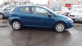 2012 62 FIAT PUNTO 1.4 8V EASY BRIO 3 DOOR,FINANCE AVAILABLE.1 OWNER FROM NEW .