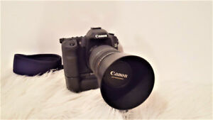 CANON 50D + LENTILLE 75-300MM + 2 BATTERIES + BATTERY GRIP + SAC