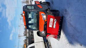 RTV 1100 cab v plow and salter