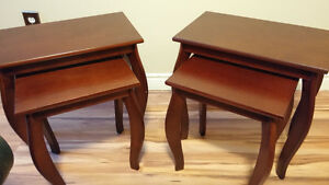 2 Nesting Table Sets