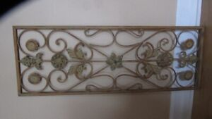 Decorative metal wall art