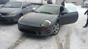 2003 Mitsubishi Eclipse GT Coupe (2 door)