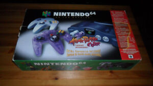 BOXED N64 -- NINTENDO 64 -- MINT COLLECTOR CONDITION – DELUXE