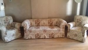 Sofa 3 set for free