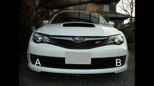 Subaru sti fog covers & caps