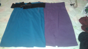 Four skirts
