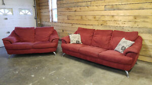 Natuzzi Couch and Loveseat Set - Delivery Available
