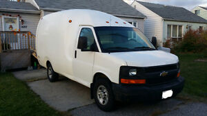 2006 Chevrolet Cube Van (with shelving)
