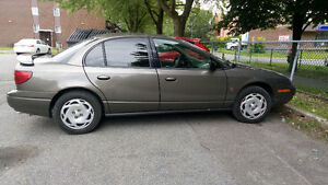 2001 Saturn SL2, Series Berline