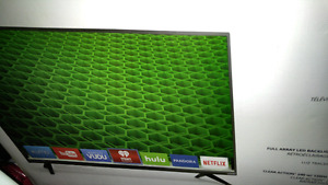 "Visio tv 43"" smart tv ( negotiable )"