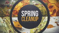 Spring Clean ups Amazing Discounted Prices