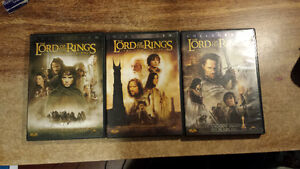 Lord of the Ring DVDs