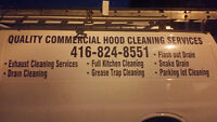 Quality hood cleaning services and Grese trap