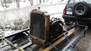 Old 4 cylinder engine