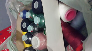 Sewing/serger thread for the sewer