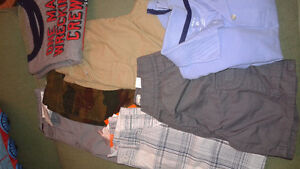 Boys 2T shorts (5pairs) & shirts (2) - NEW