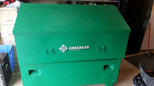 Greenleee Slant top job Site Tool Box