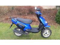 TGB 202 Moped Scooter Learner PX Swap UK Delivery