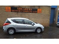 + 10 PLATE PEU 207 SW 64 K ONLY £2690+