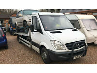 2011 61 Mercedes-Benz Sprinter 3.0CDi 519 LWB 6.5 TONN RECOVERY TRUCK TWIN WHEEL
