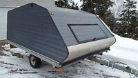 For Sale  2004, 10' Clamshell Snowmobile Trailer