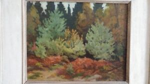 Original Oil Painting by Canadian Artist Herbert Sidney Palmer