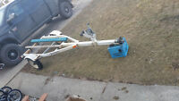1997 yaht klub sea doo/ boat trailer