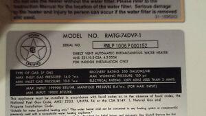 Propane tankless water heater Sarnia Sarnia Area image 2