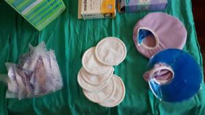 nursing items (pads, bottle warmer, etc) $186 value