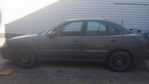 2001 Nissan Sentra Gxe $1.500 AS IS