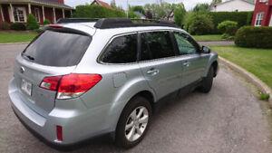 Subaru Outback 2014 - Aubaine, vendue par le seul propriétaire