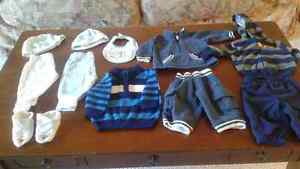Baby Boy Lot Size 0-3 Months