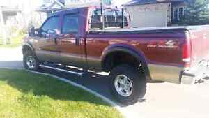 2004 Ford F-250 Super Duty XLT-CREW CAP-DIESEL with newer plow Kitchener / Waterloo Kitchener Area image 4