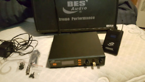 BES Audio in ear wireless system