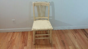 Solid Wood Chair ( FREE DELIVERY )