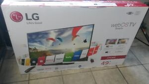 LG 49 INCH LED 1080P SMART TV (no stand)
