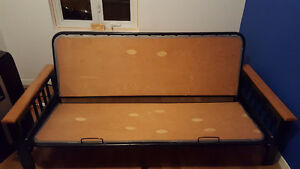 Futon en bois Lit - Wooden Futon Bed or Sofa