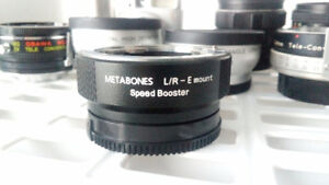 Speed booster Metabones leica r to e mount