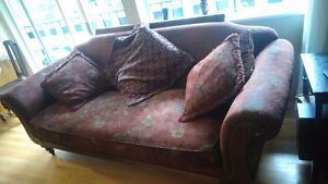 Chintz and Co. Vintage looking Couch and Chair
